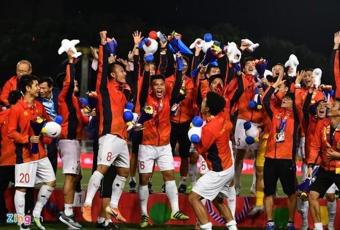Tuyển Việt Nam dẫn đầu Đông Nam Á khi kết thúc năm 2019