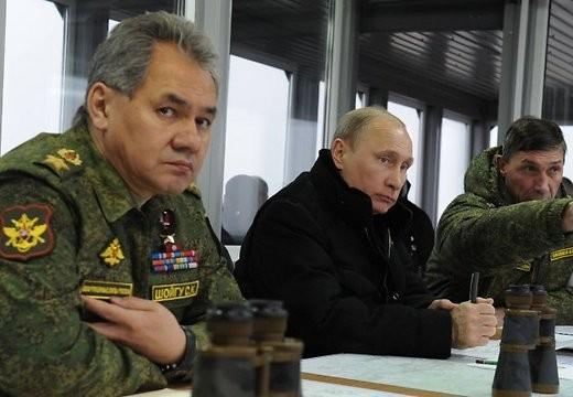 Tổng thống Putin đích thân chỉ huy diễn tập tên lửa đạn đạo