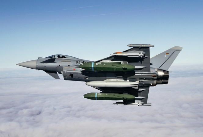 Ấn Độ nhập hơn 120 tiêm kích Eurofighter Đức