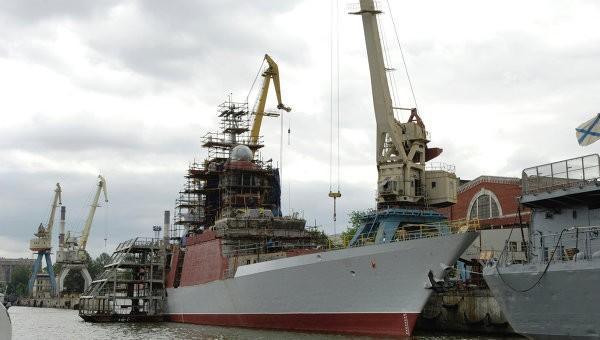Nga hé lộ siêu khu trục hạm trang bị động cơ hạt nhân