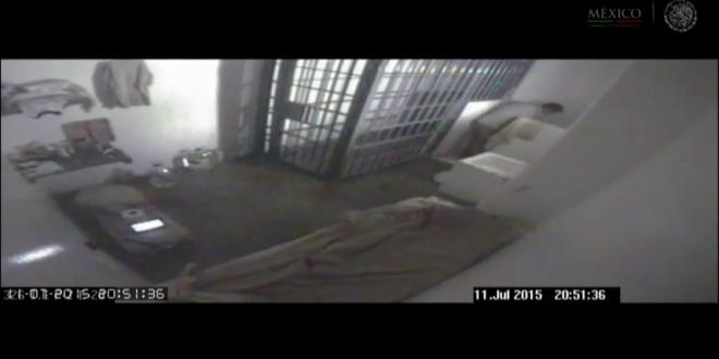 Mexico công bố video thời khắc trùm ma túy Guzman vượt ngục