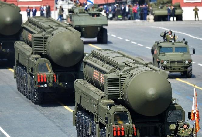 Nga đưa vào hoạt động 8 tên lửa đạn đạo liên lục địa