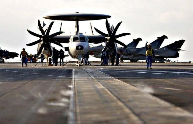Một máy bay trinh sát của Pháp. (Nguồn: AFP)