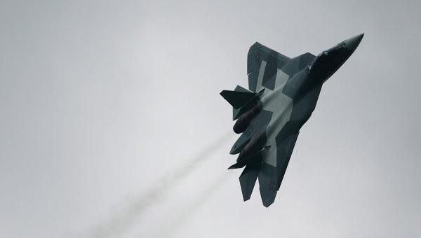 Chiến đấu cơ thế hệ năm T-50 của Nga. Ảnh: RIA Novosti