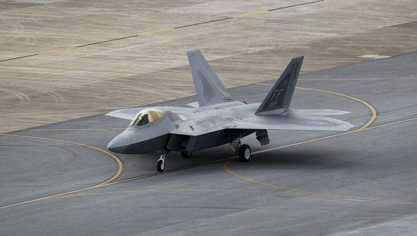 Tiêm kích F-22 của Mỹ tại Nhật Bản. Ảnh: AP