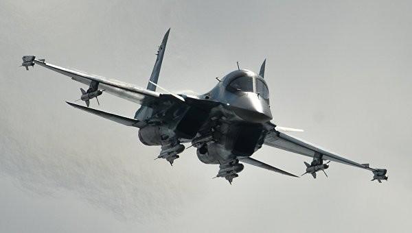 Cường kích - ném bom Su-34. Ảnh: RIA Novosti
