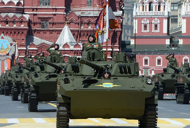 Hùng tráng lễ duyệt binh mừng Ngày Chiến thắng ở Nga