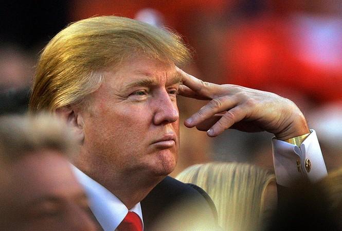 Ứng viên tổng thống Mỹ của đảng Cộng hòa, tỷ phú Donald Trump tiếp tục có những phát ngôn gây sốc. Ảnh: AP