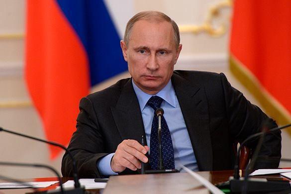 """Tổng thống Nga Vladimir Putin đã cáo buộc Ukraine đang """"lựa chọn khủng bố thay vì hòa bình"""". Ảnh: Pravda"""