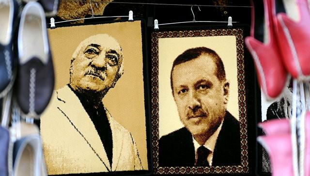 Tổng thống Thổ Nhĩ Kỳ Erdogan và giáo sĩ Gulen từng một thời là đồng minh chính trị. Ảnh: AFP