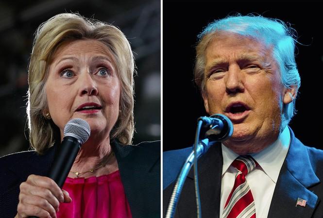 Cử tri Mỹ vẫn lưỡng lự lựa chọn ứng viên Tổng thống giữa bà Clinton và ông Trump. Ảnh: New York Times