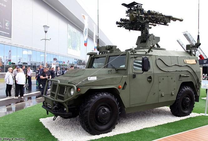 Nga công bố video thử hệ thống Gibka-S - 'khắc tinh' đối với mục tiêu tầm thấp
