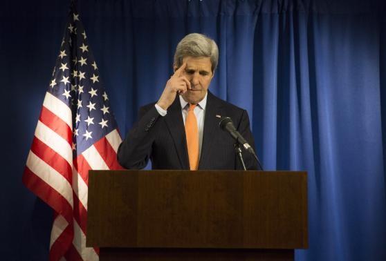 Ngoại trưởng Mỹ John Kerry. Ảnh Reuters