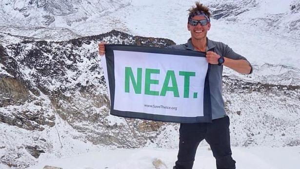 Fredinburg là một người đam mê thám hiểm, đã cùng 3 đồng nghiệp tham gia chuyến chinh phục đỉnh Everest hôm 25/4.