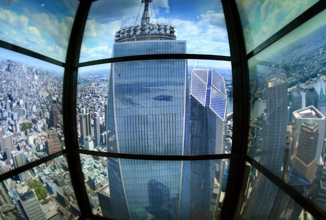 """Mỹ mở cửa đài quan sát """"chọc trời"""" ở tòa tháp WTC"""