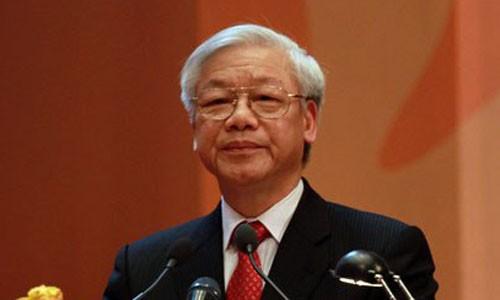 Tổng bí thư Nguyễn Phú Trọng. Ảnh Vnexpress.