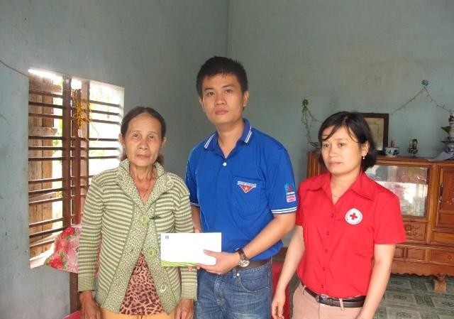 Đạm Phú Mỹ hỗ trợ đồng bào vùng lũ miền Trung