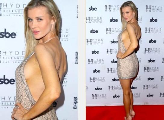 Người mẫu Playboy Joanna Krup diện đầm trễ nải khoe dáng nuột