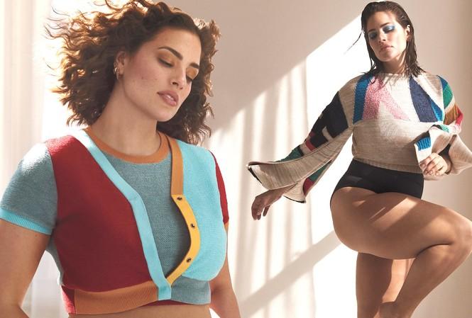 Siêu mẫu ngoại cỡ Ashley Graham khoe dáng nảy nở sexy hết nấc