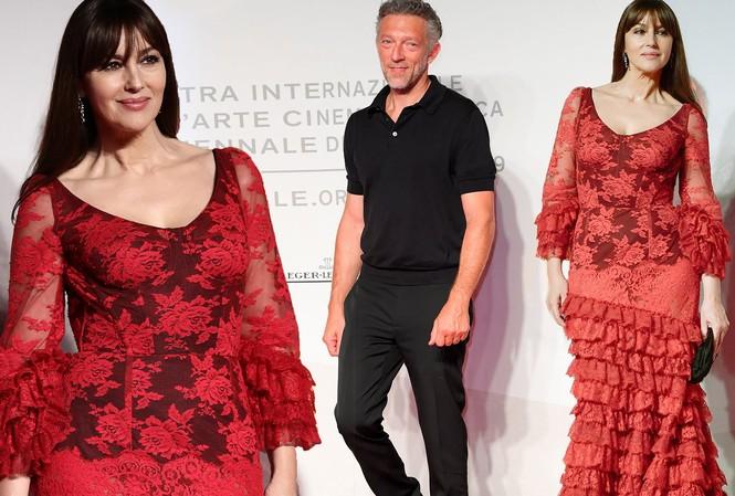 Minh tinh Monica Bellucci xinh đẹp không tuổi trên thảm đỏ LHP Venice