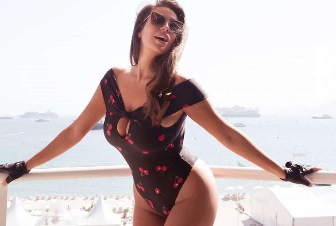 Vóc dáng tròn đầy nóng bỏng của người mẫu ngoại cỡ Nadine Mirada