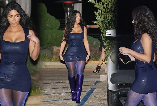 Kim 'siêu vòng 3' mặc bó sát, khoe ba vòng 'nảy lửa'
