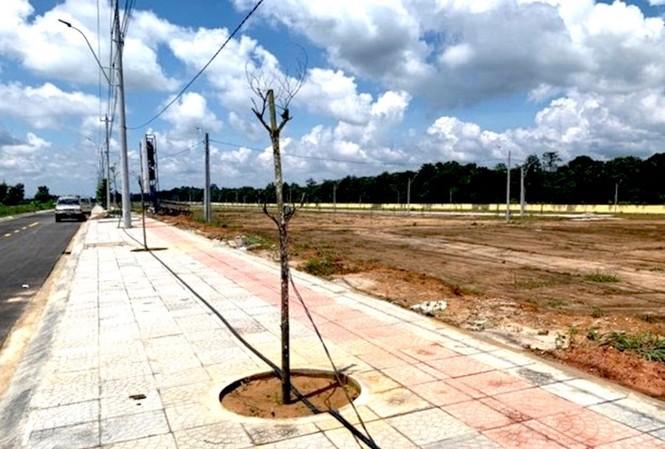 Khu vực triển khai dự án quỹ đất phía Tây Quốc lộ 14.