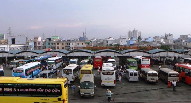 Bến xe miền Tây sẽ tăng cường 60 xe buýt để đưa hành khách về quê ở các tỉnh miền Tây, ĐBSCL. Ảnh: Zing