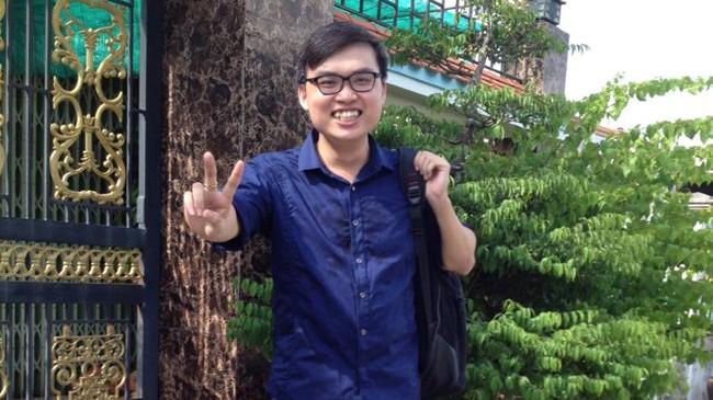 Thủ khoa Nguyễn Thông với thành tích 29.5 điểm khối A.