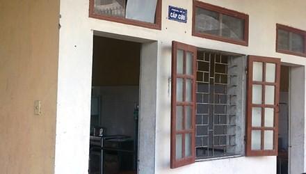 Phòng cấp cứu Bệnh viện đa khoa huyện Tiên Lãng, nơi anh Định bị đâm chết.