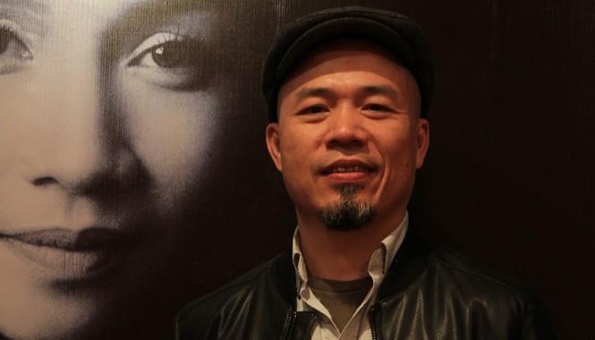 Nhạc sĩ Huy Tuấn- người bạn lâu năm trong âm nhạc của Mỹ Linh. Ảnh: N.M.Hà.