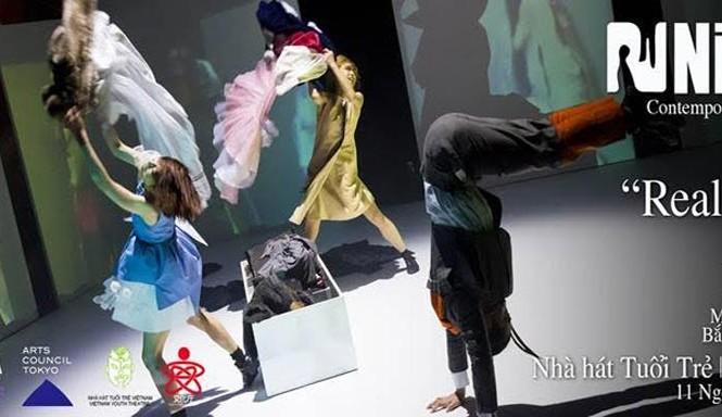 Múa đương đại Nhật có mặt tại Hà Nội