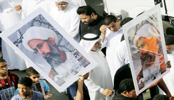 Vụ hành hình giáo sĩ bất đồng chính kiến Nimr al-Nimr châm ngòi cho cuộc chiến tranh lạnh mới giữa Iran và Ảrập Xêút. Ảnh: AP.