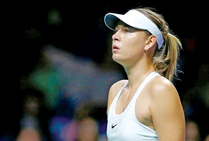Sharapova lên đỉnh rồi xuống đáy