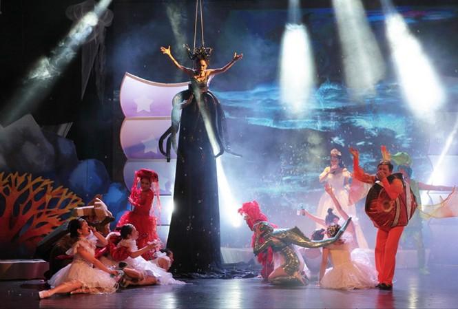 Nở rộ nhiều vở kịch, chương trình ca múa nhạc và xiếc dành cho thiếu nhi dịp 1/6.
