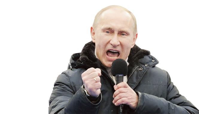 Tổng thống Vladimir Putin là biểu tượng sức mạnh của Nga trong những năm đầu thế kỷ 21. Nguồn: RIA-Novosti