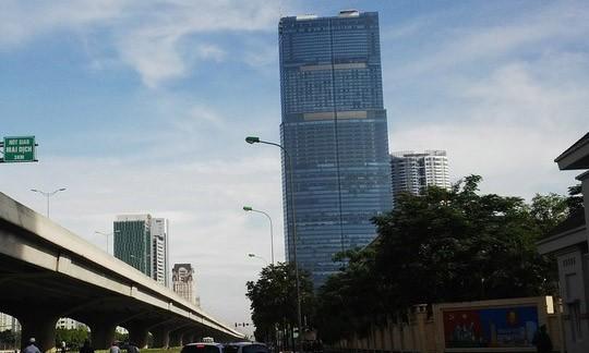 Tòa nhà  Landmark 72 ở Hà Nội.