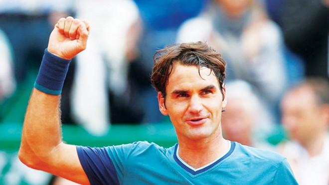 Phong cách lịch lãm trên sân đấu của Roger Federer rất hút các nhà tài trợ, quảng cáo. Ảnh: Skysports