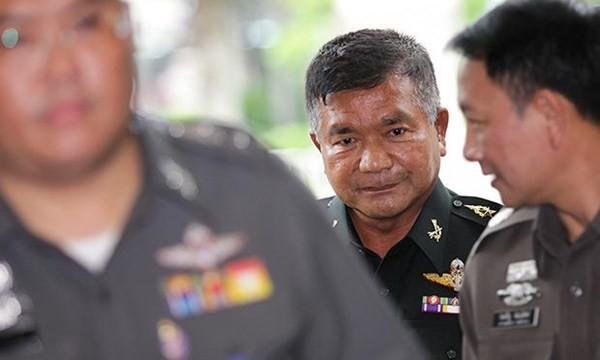 Trung Tướng Manas Kongpan là viên tướng mà Thái Lan vừa truy tố tội buôn bán người