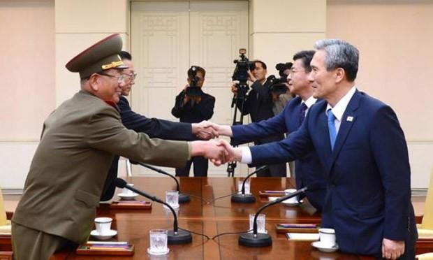 Hai miền Triều Tiên ngừng hành động đối đầu
