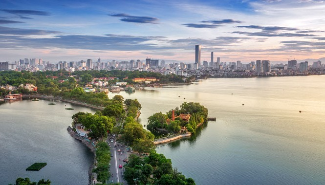"""Một trong số 5.000 bức ảnh về Hà Nội bày tại """"triển lãm trực tuyến"""" Ảnh Hà Nội- Hanoi's Panorama & Skyline Gallery"""