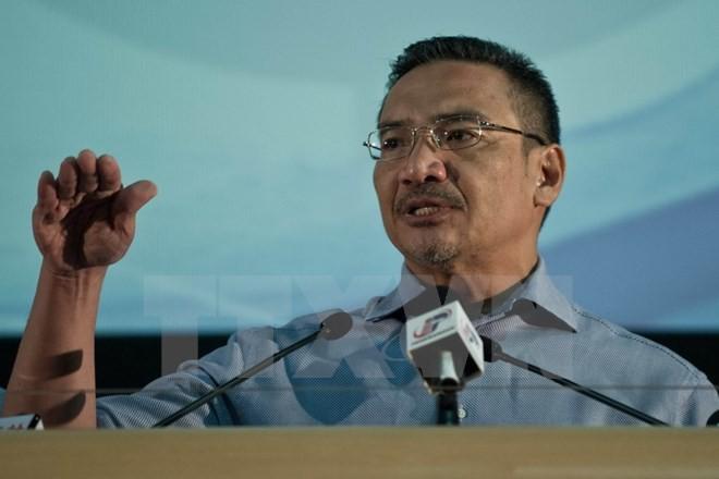 Bộ trưởng Quốc phòng Malaysia Hishammuddin Hussein. (Ảnh: AFP/TTXVN)