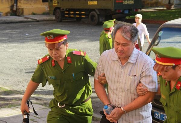 Bị cáo Phạm Công Danh tại phiên tòa. Ảnh: Vietnamnet