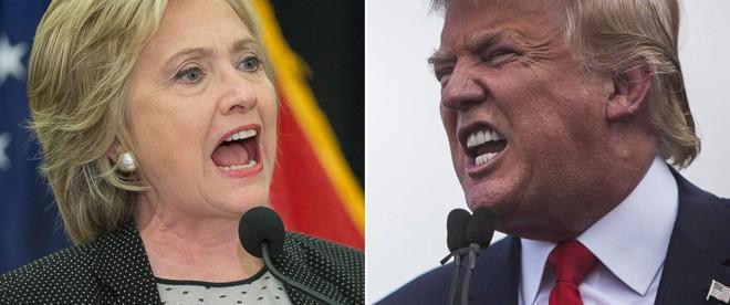 Cựu Ngoại trưởng Hillary Clinton và tỷ phú Donald Trump, ai sẽ chiến thắng trong cuộc đua vào Nhà Trắng tháng 11 tới? Ảnh: ABC News