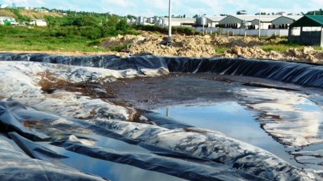 Cty TNHH Green Farm Asia thải ra môi trường.