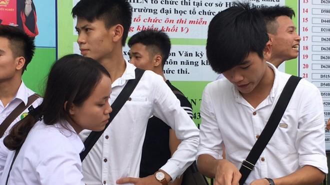 Giáo viên và học sinh lo lắng về Dự thảo thi THPT quốc gia 2017 của Bộ GD&ĐT.