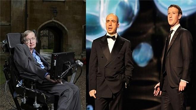 Breakthrough Listen là dự án 100 triệu USD được Stephen Hawking hợp tác thực hiện cùng 2 tỷ phú Mark Zuckerberg và Yuri Milner. Ảnh: Wordpress.