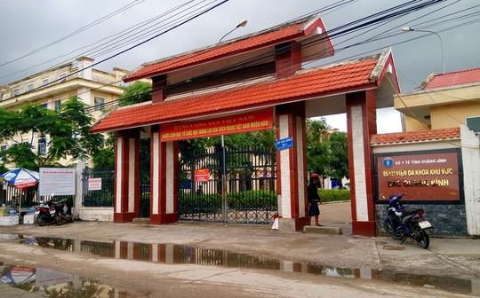 Bệnh viện Đa khoa Bắc Quảng Bình. Ảnh: Người lao động