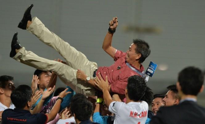 Chiến tích lọt vào VCK U20 thế giới của thầy trò HLV Hoàng Anh Tuấn là cú hích rất tích cực cho chiến lược tăng cường đầu tư cho đào tạo trẻ của bóng đá Việt Nam. Ảnh: AFC