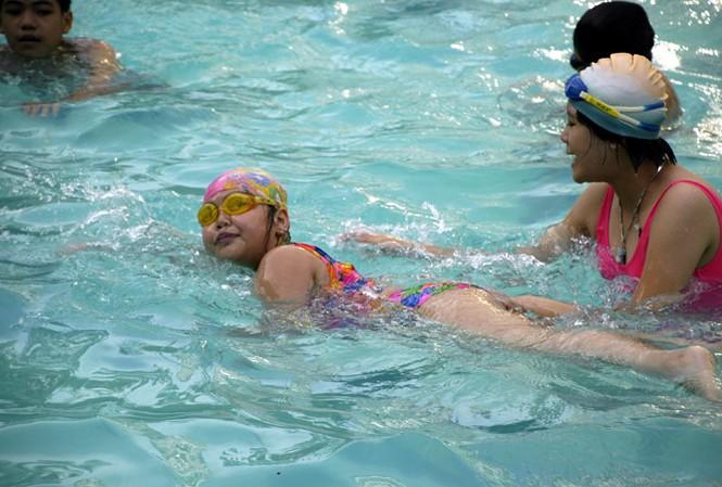 Việt Nam được hỗ trợ 2,4 triệu USD phòng chống đuối nước cho trẻ em tại 8 tỉnh. Ảnh: Như Ý.